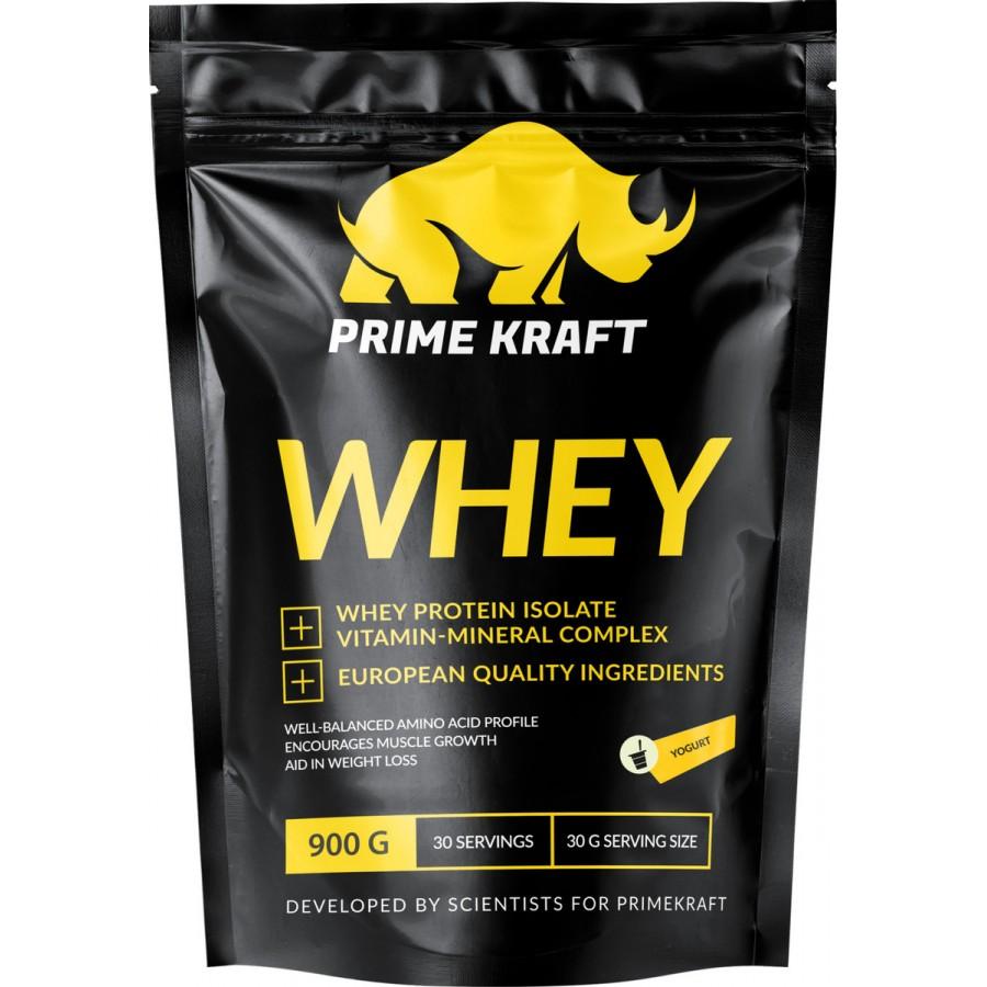 PrimeKraft, Whey Protein, молочный шоколад, 900 г
