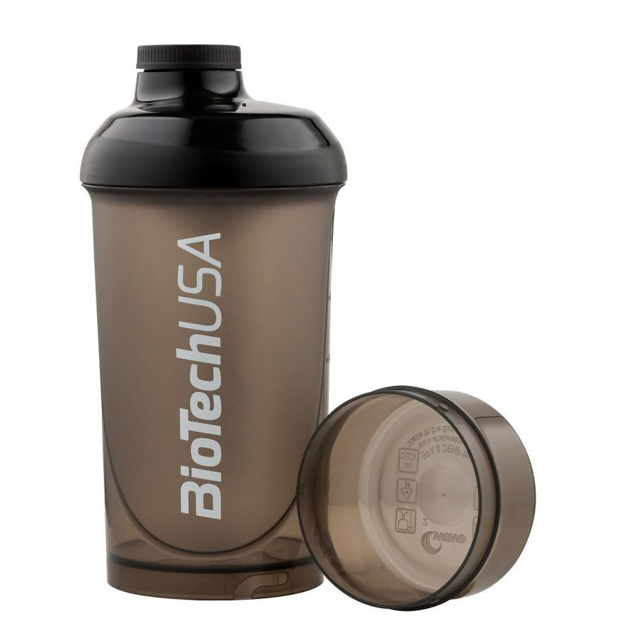 Шейкер BioTechUSA, черный, с контейнером 500 ml