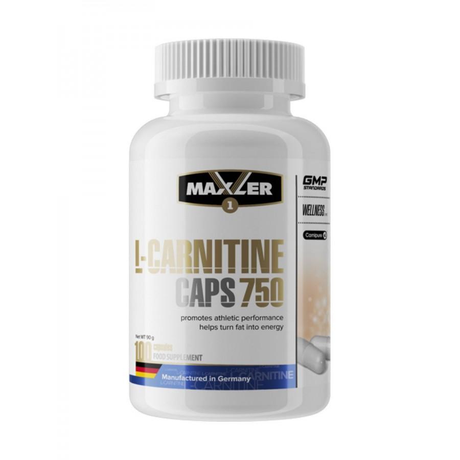 Maxler L-Carnitine 750 мг, 100 Капсул