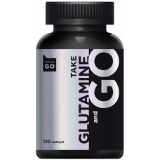 Take and Go Glutamine, 600 mg, 120 капсул