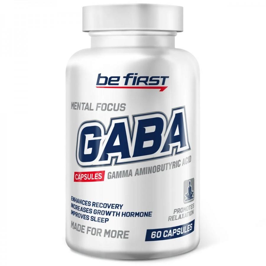 GABA, 1100 мг, 60 капсул