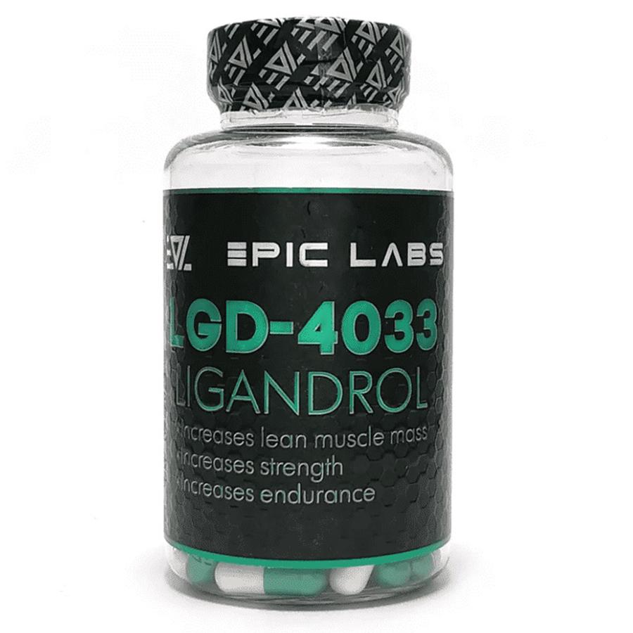 Epic Labs, Ligandrol, LGD-4033, 60 капсул