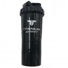 Smart shaker, черный, с контейнерами