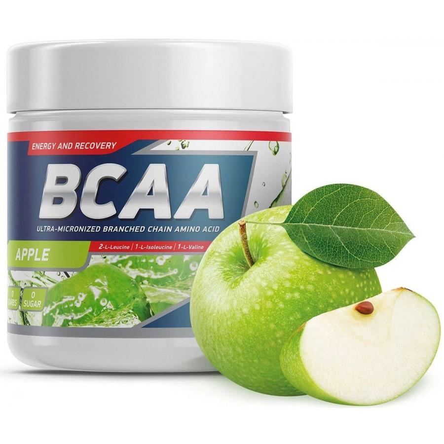 Geneticlab BCAA со вкусом Яблоки, 250 г, 50 ПОРЦИИ