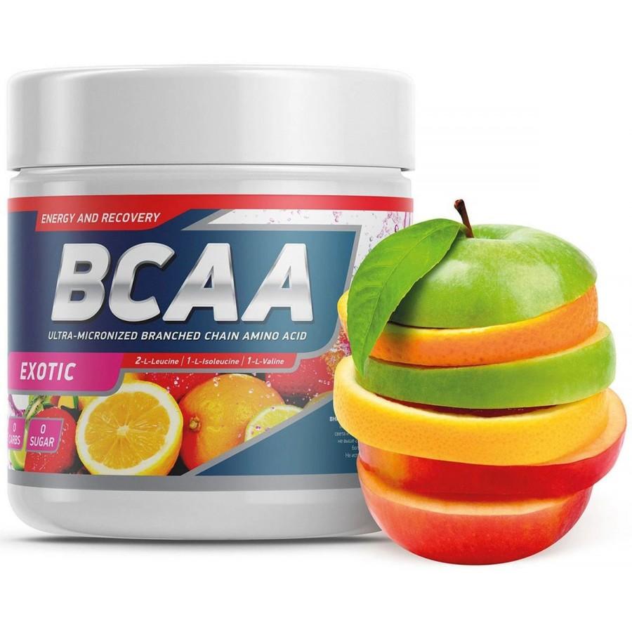 Geneticlab BCAA 2:1:1, экзотический, 250 г, 50 порции