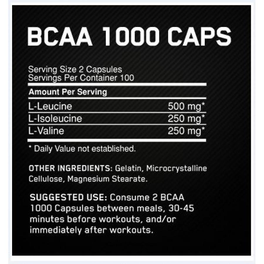 Optimum Nutrition BCAA 1000 Купить в Армении Бесплатной Доставкой