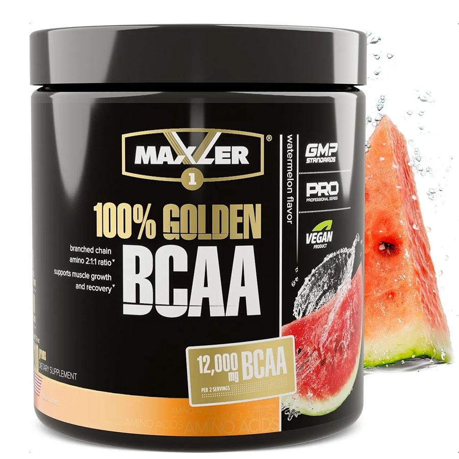 Maxler 100% Golden BCAA, арбуз, 210 г