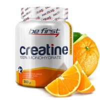 Be First, Creatine Powder Monohydrate, Micronized, Апельсин, 300 гр