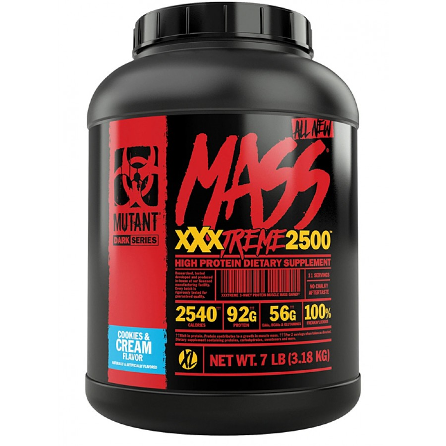 Mutant MASS XXXTREME 2500, Печенье с кремом, 3100 г