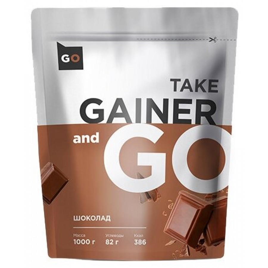 Take and Go Gainer, Шоколад, 1000 г