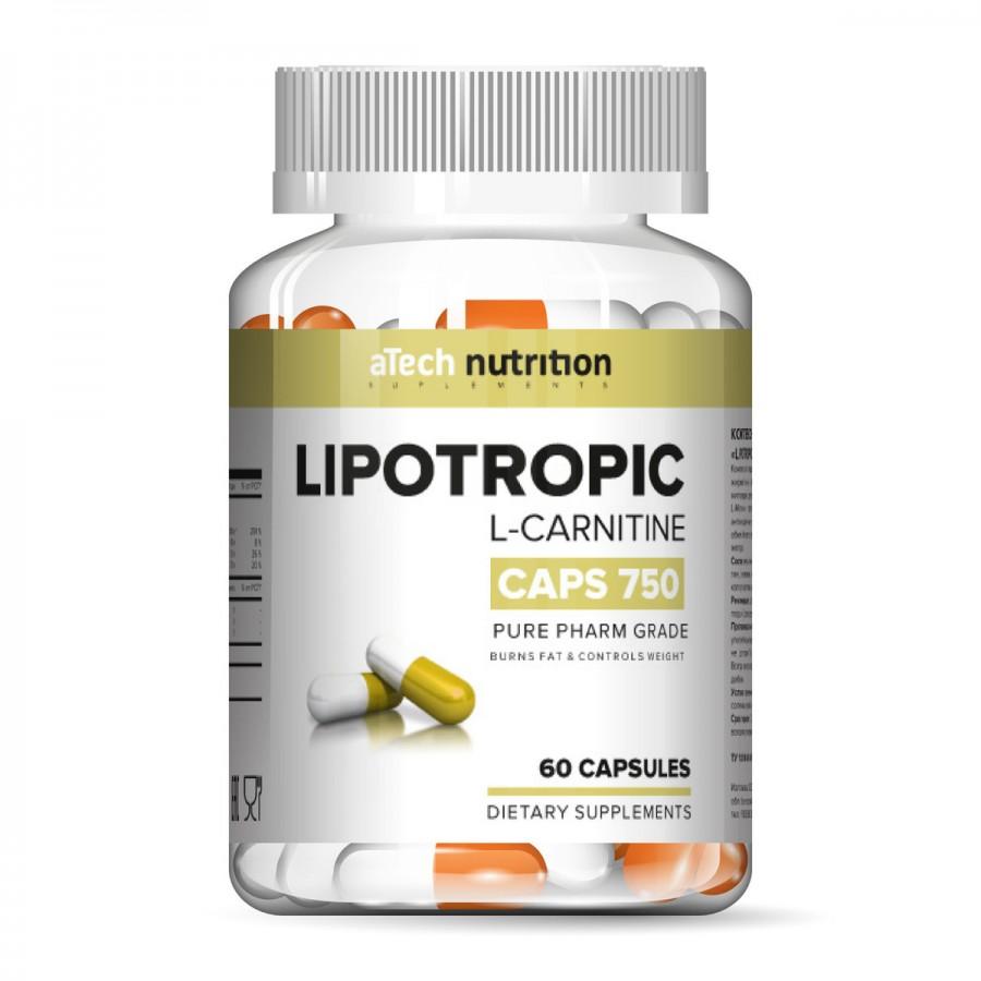 LIPOTROPIC, Л-карнитин, 60 Капсул