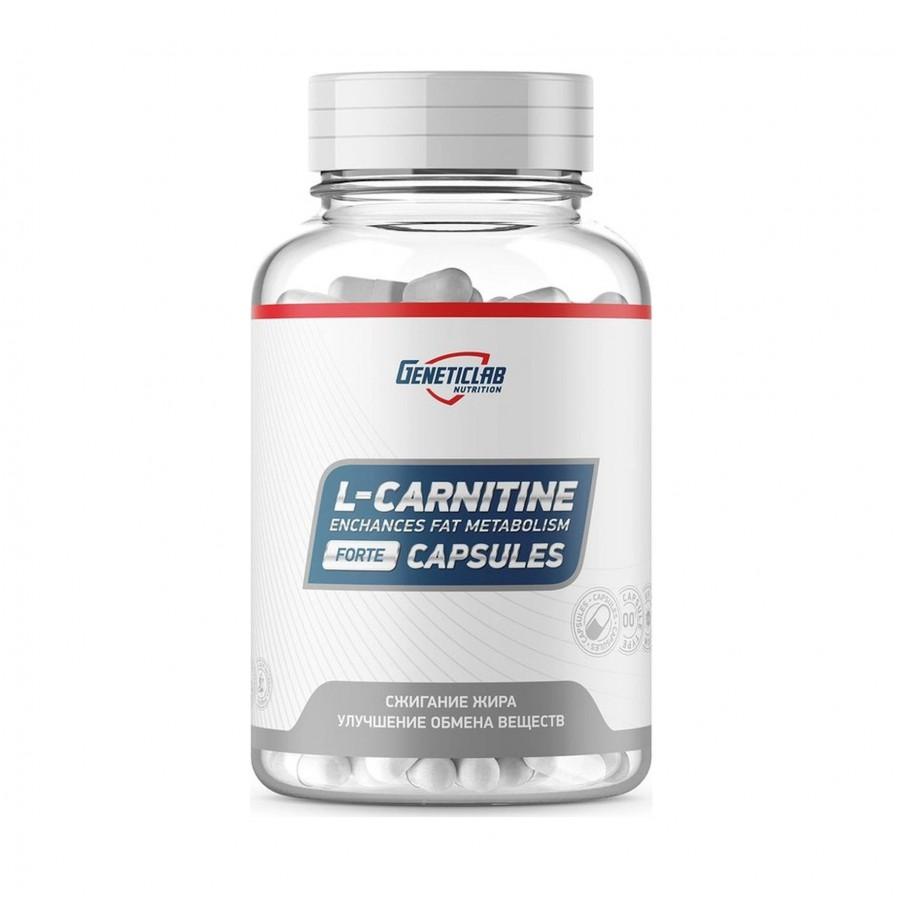 Geneticlab, L-Carnitine, 60 Капсул