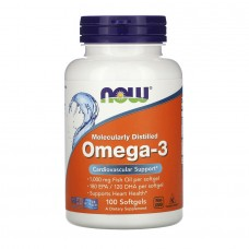 Now foods, Omega-3, 1000 mg, 100 caps