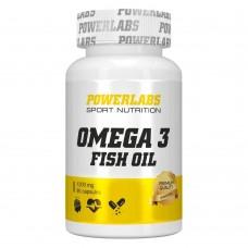 Powerlabs Omega 3, 1200mg, 90 caps