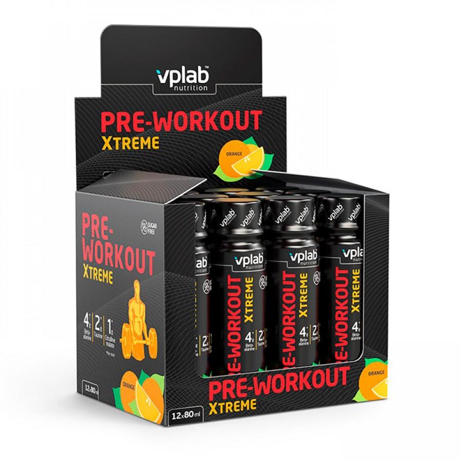 Pre Workout Xtreme, Vplab, 12 shot, Апельсин