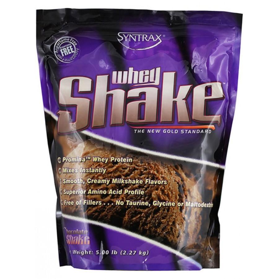 Syntrax Whey Shake protein, Шоколад, 2270 г