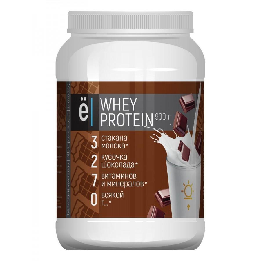 Ё/батон, Whey Protein, Шоколад, 900 г