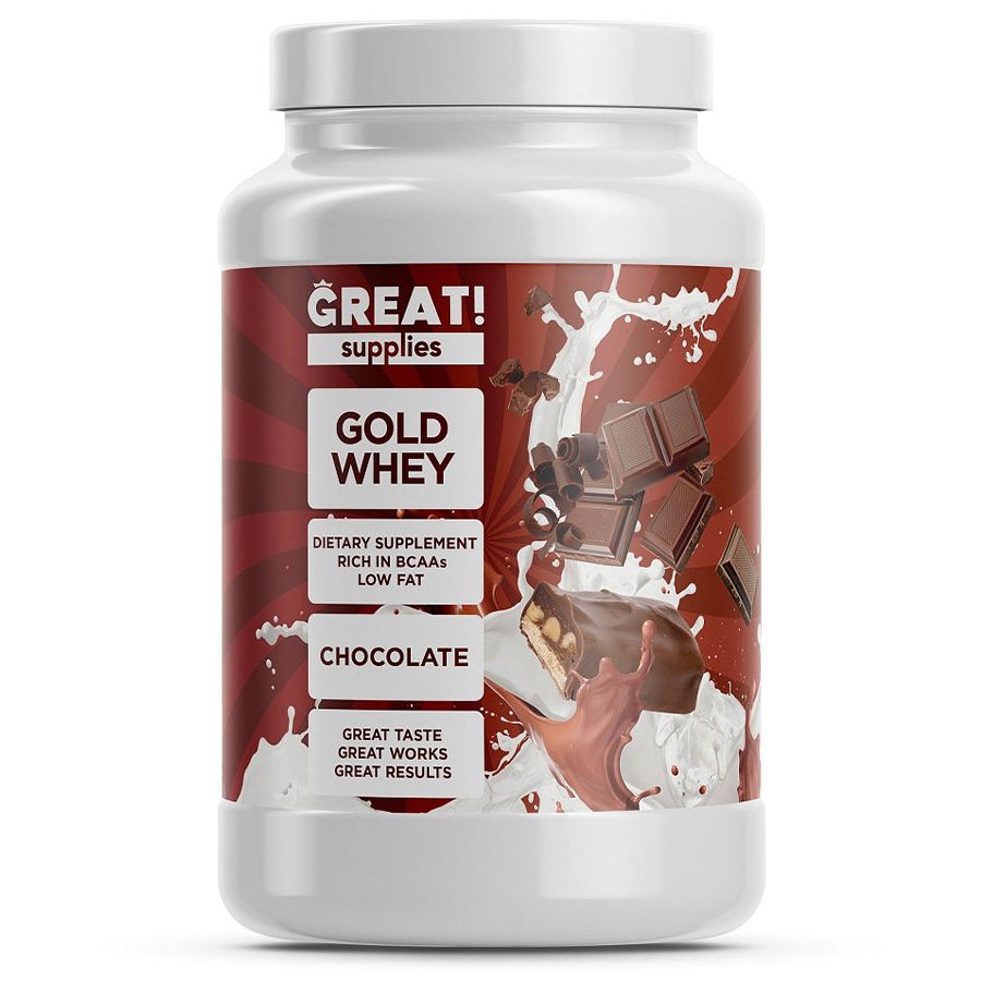 Gold Whey Protein, Шоколад, 900 г