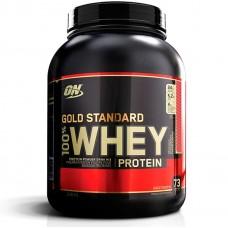 Протеин, Whey Gold Standard, клубника-банан 2,27 кг
