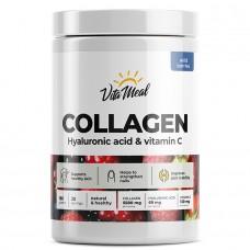 VitaMeal Collagen, Hyaluronic acid & vitamin C, лесные ягоды