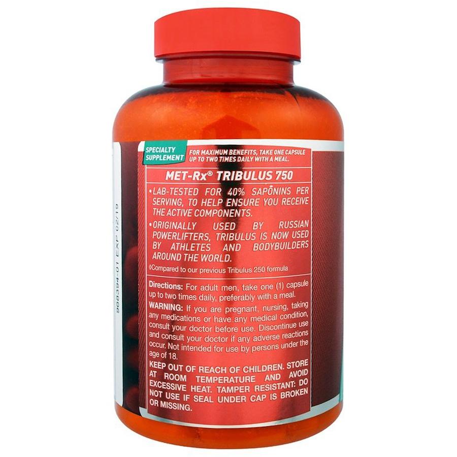 MET-Rx Tribulus, 750 mg, 90 caps