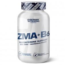ZMA + Vitamin B6, Testosterone Support, 60 капсул