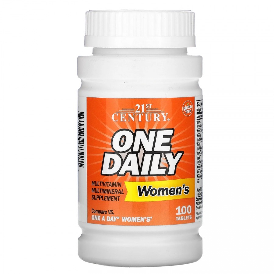 Multivitamin One Daily Women's, 100 таблеток