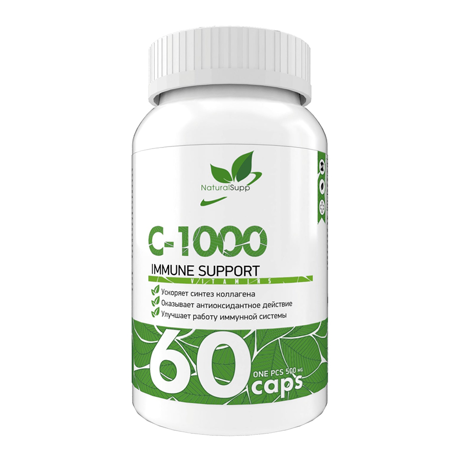 NaturalSupp, Vitamin C 1000 MG, 60 капс