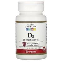 Vitamin D3, 1000 IU, 60 таб
