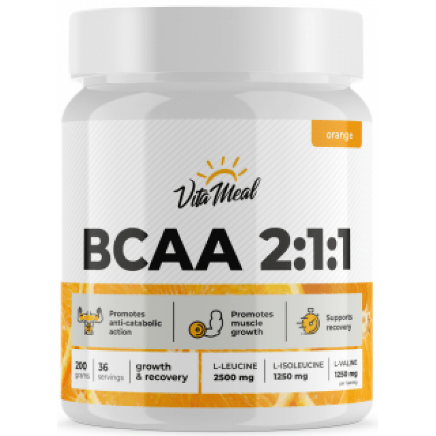 BCAA 2:1:1, VitaMeal, 500 г